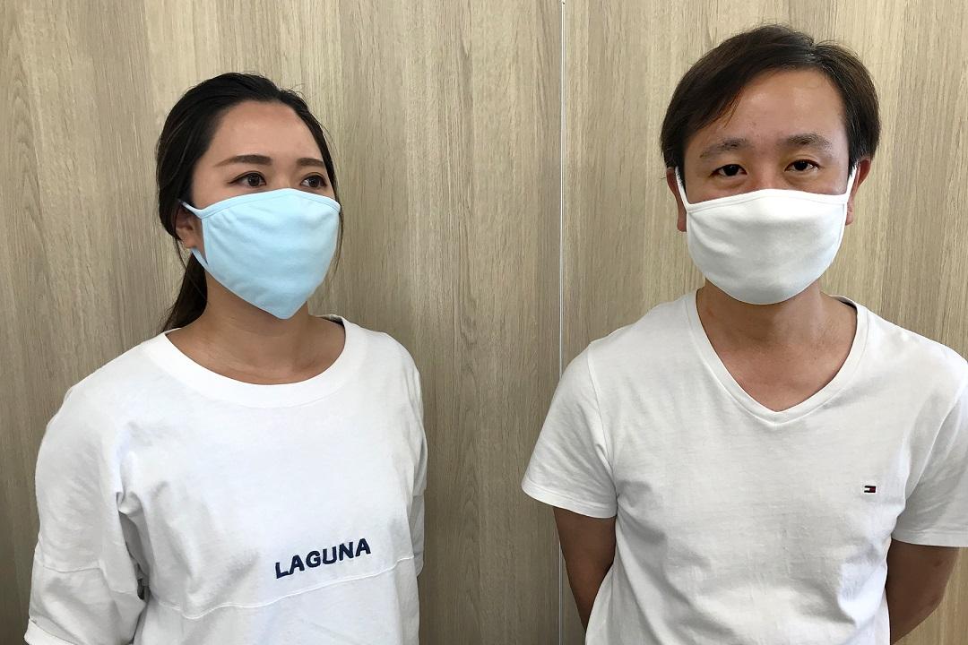 【加古川】肌に優しい「コットンマスク3枚組」 KICHIJIRO(キチジロー)
