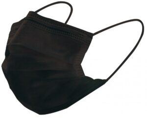 【最高峰マスク】ミントでクールに快適に。冷感効果の夏用不織マスクに新色のブラック