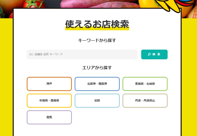 「Go To Eat ひょうごキャンペーン」食事券が使える参飲食店舗