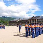 【神河町】消防団、新入団員・幹部訓練が実施
