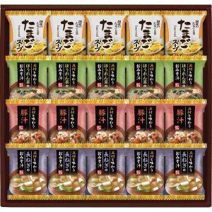 フリーズドライおみそ汁&たまごスープ HDN-50 2919-057