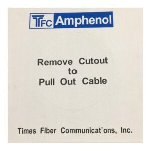 TFC Amphenol 同軸ケーブル100m S5CFB BLACK