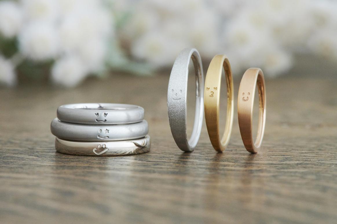 【二人の似顔絵を刻印】自分達だけのオリジナル結婚指輪を創り上げる新サービス