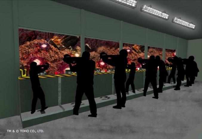淡路島に世界初の実物大ゴジラアトラクション 10月10日オープン