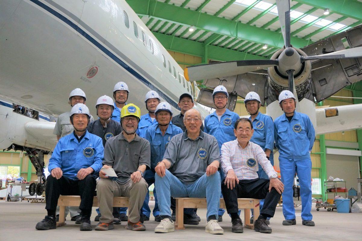 【国立科学博物館】「YS-11」量産初号機公開プロジェクト|組立作業をライブ配信