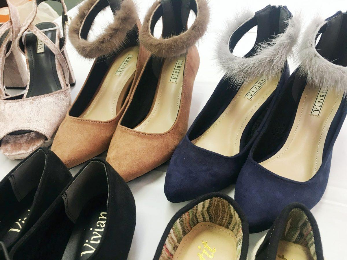 【事業者向け】新品の婦人靴が大量。レディースシューズをまとめて卸売り
