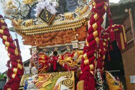 【秋祭り2020】コロナ禍に負けず神事、屋台お披露目