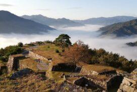 【天空の城】竹田城跡で雲海|生野町観光協会|みんなのフォト