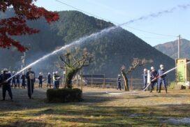 多可町消防団の実践訓練が行われました|加美区の様子