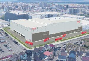 【国内最大級】コカ・コーラ 最新自動物流センターの建設を開始
