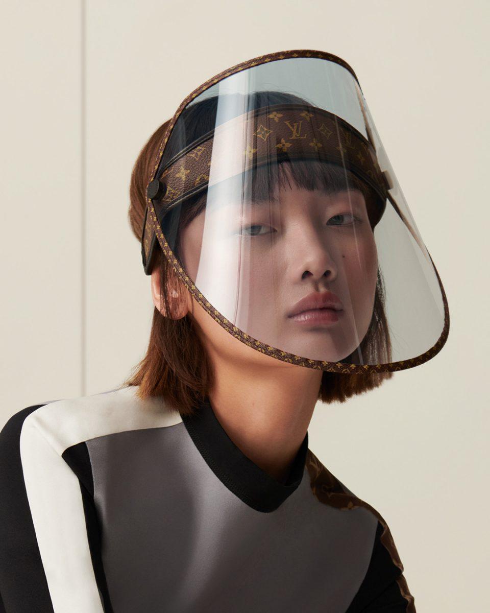 【ルイ・ヴィトン】モノグラムのフェイスシールドが年内発売に Louis Vuitton