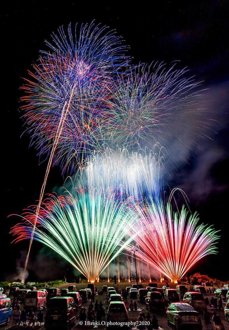 【花火を見上げる物語】兵庫県で12月5日開催|日本を、花火でつなぐ。