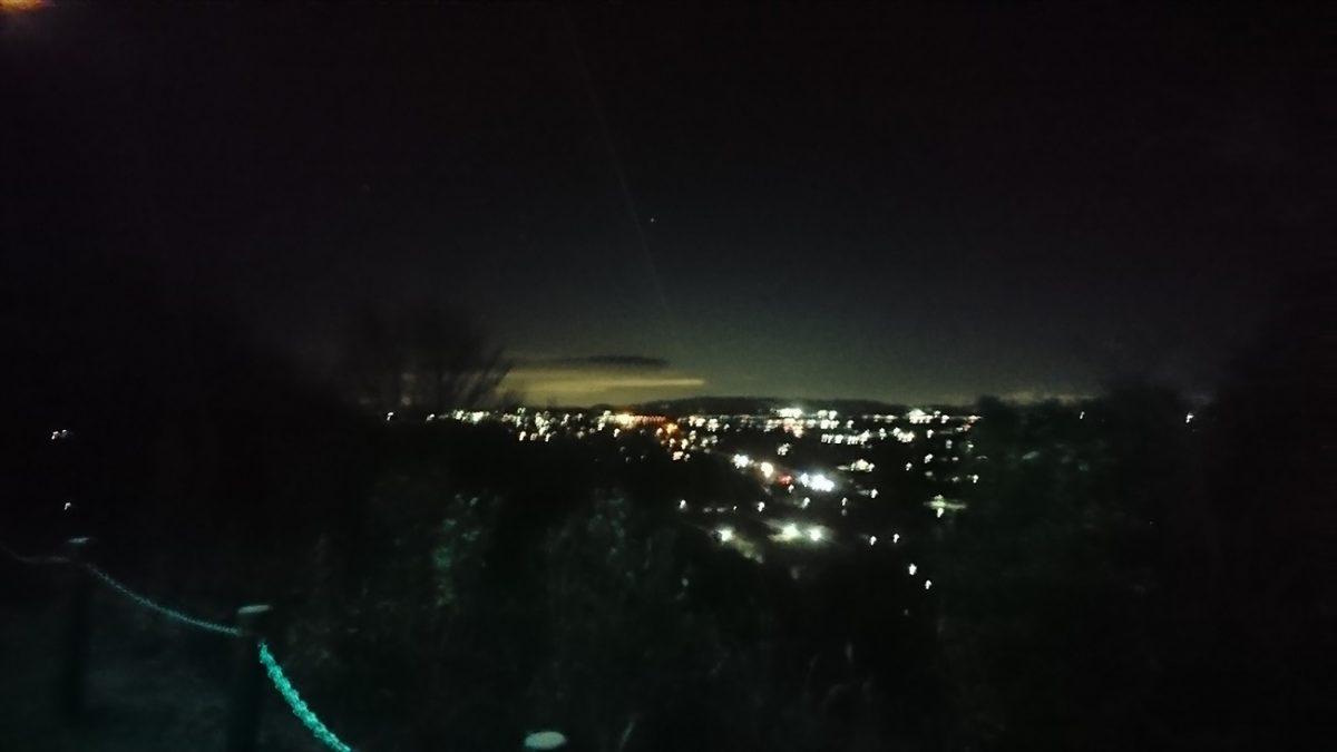 山の上の気になるイルミネーションを求めて|ランドマーク展望台|加西市