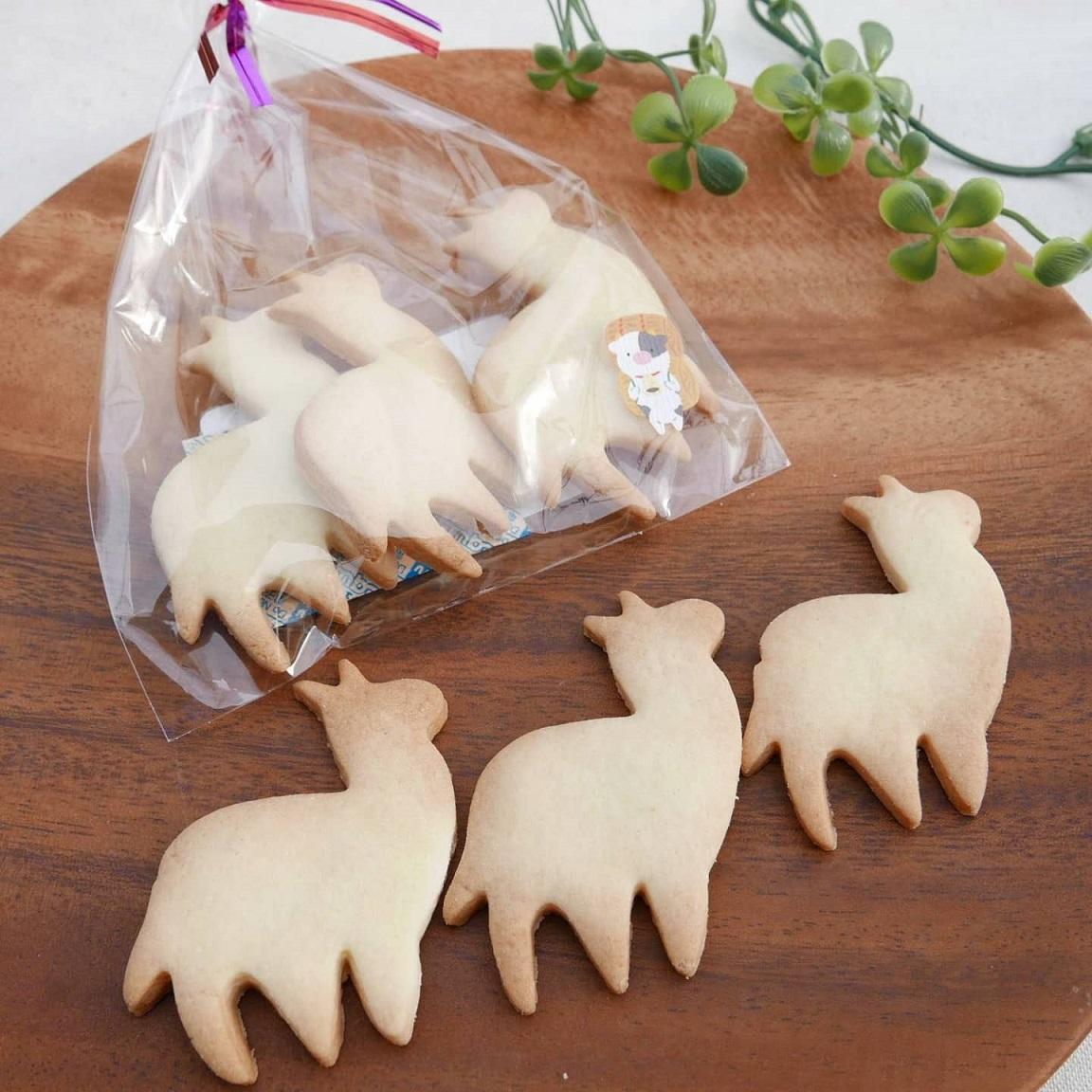 【新年】自家製アルパカクッキープレゼント|ヨーデルの森