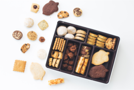 【おうちでプチ贅沢】スナックミーの『snaq.me 冬のしあわせクッキー缶』が発売。ギフトにも。