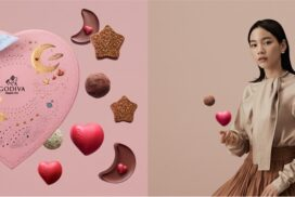 【のん×ゴディバ】バレンタイン限定コレクション「きらめく想い」