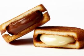 【冬季限定】放牧牛乳を使用した新食感の生チョコレートサンドクッキーが誕生!