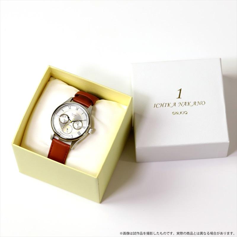 【五等分の花嫁】推しキャラは誰?腕時計が受注生産商品で発売決定