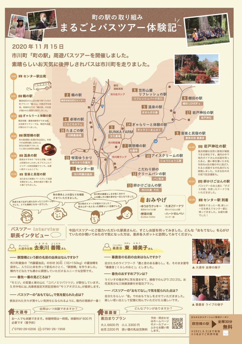 【市川町】もっと身近に、町の駅 まちのえきステーションVOL.1が発刊