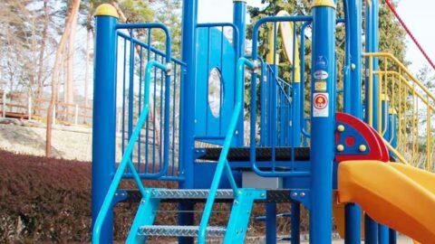 【多可町】余暇村公園のキッズ広場に新しい遊具