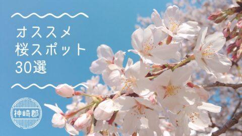 【神崎郡】定番から穴場までオススメ桜スポット30選|神河町・市川町・福崎町
