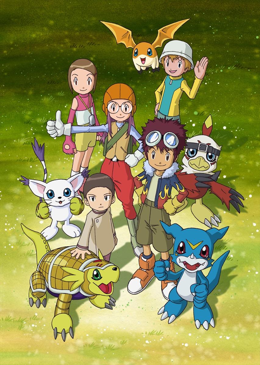 【デジモン】TVアニメ 6作品全話がYouTube公式チャンネルで配信決定