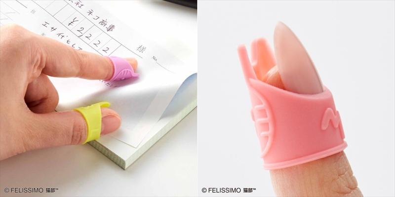 【猫の手貸します!】カラフルな猫の指サックと手帳シールが可愛すぎる~~