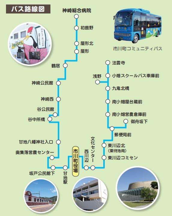 瀬加~神崎総合病院路線