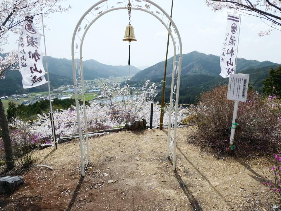 【市川町】山桜とさつき、頂上からの絶景に魅了|瀬加山城