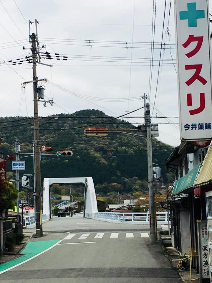 鶴居駅から屋形橋