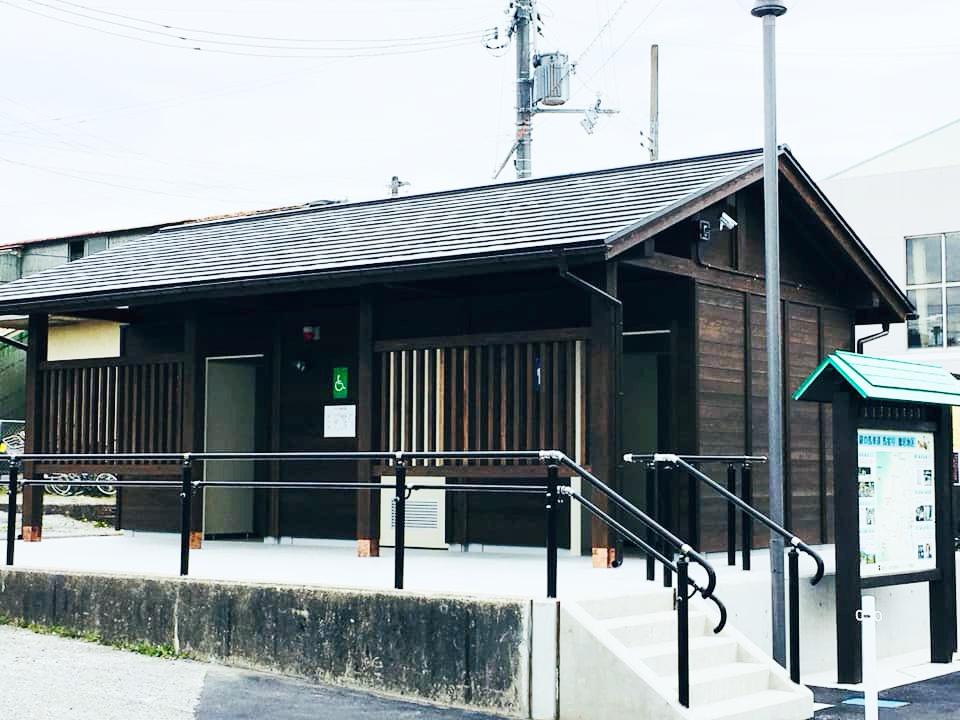 【市川町】鶴居駅の公共トイレが新設|JR播但線