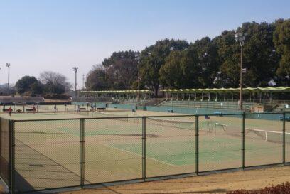テニスコート 部活動イメージ