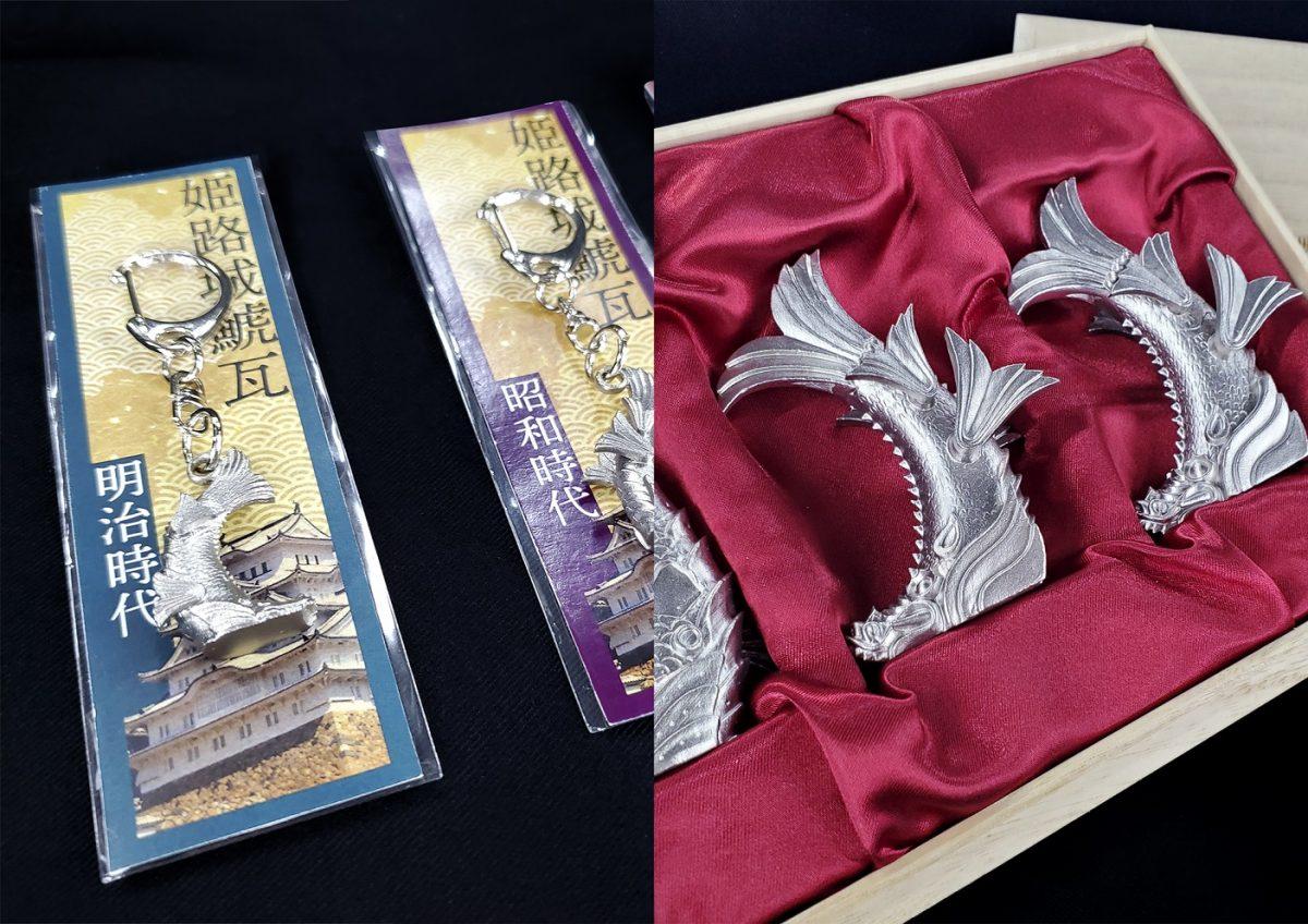 姫路城の歴代「しゃちほこ」が商品に。「城の日」から販売