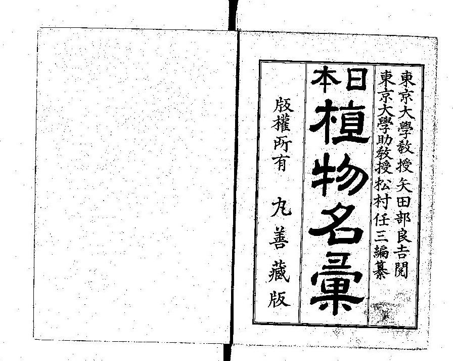 日本植物名彙シロツメクサ(白詰草)の由来