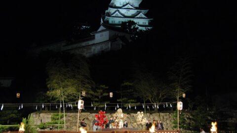 姫路城薪能