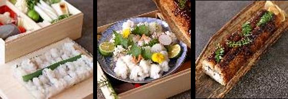 淡路島の鱧を堪能するごちそう鱧三昧セット ホテルアナガ