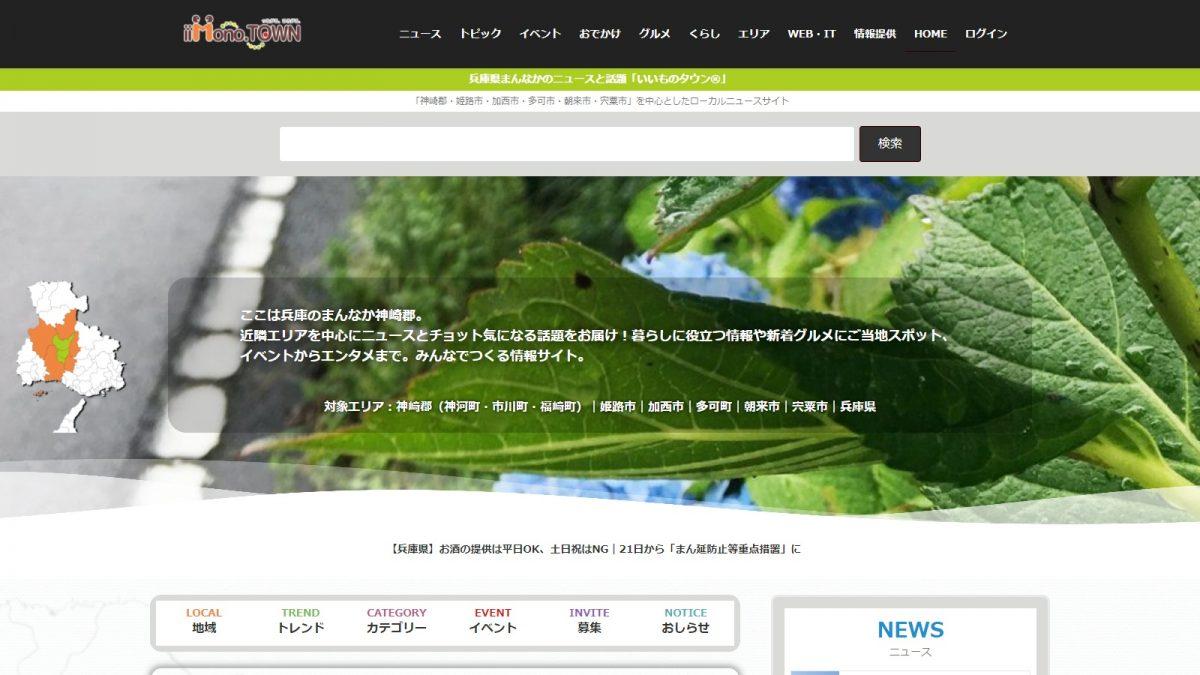 サイトトップページ