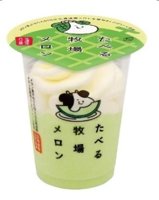 【ファミマ】夏の「たべる牧場」シリーズは爽やかなメロン味!