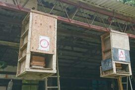 【ナニコレ】軒先に吊るされた丸と三角のマークが気になる 市川町