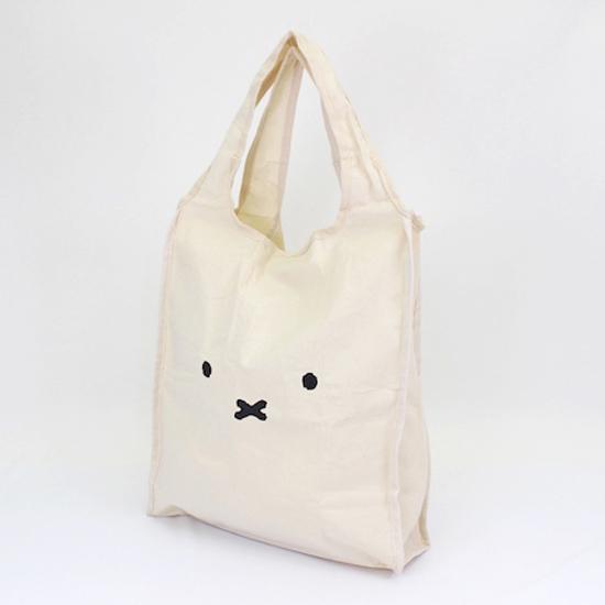 【エコバッグ】折りたためて便利。ミッフィーの可愛いトートバッグが発売 ヴィレヴァン