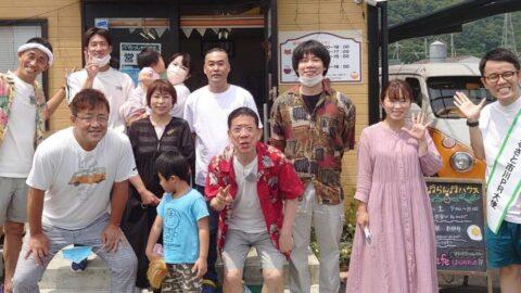 「やすしきよしの夏休み2021」にタズミの卵 市川町