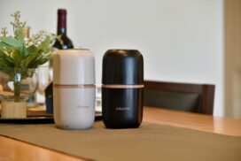 【コーヒー好き必見】どこでも挽きたての豆が味わえる、電動コーヒーミルが発売