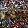 【灘のけんか祭り】松原八幡神社秋季例大祭 2021 宮入、練り合わせ、屋台運行無し