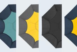 【1秒収納】とても便利!全自動収納の逆さま傘が更にレベルアップして登場