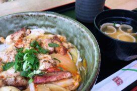 【市川町】間違いない!最強タマゴとブランド地鶏の『炭火焼 親子丼』|いろり 勢賀の郷
