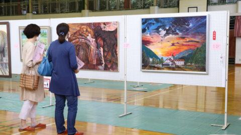 町内外から187点。第16回神河町美術展が開催