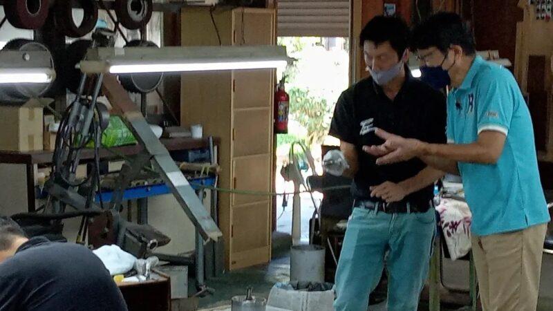 【市川町】「原田伸郎のこの街えぇなぁ」ロケ、eo光テレビで10月放映