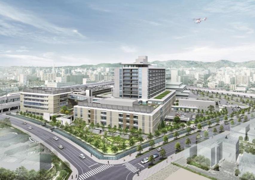 兵庫県立はりま姫路総合医療センター(はり姫)