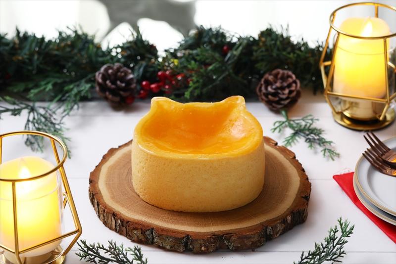 【クリスマス】ねこねこチーズケーキが11月よりクリスマスケーキの予約を開始