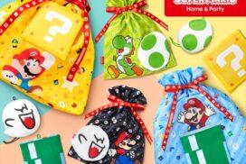 【クリスマス】スーパーマリオのラッピングバッグシリーズがプレゼントにぴったり!